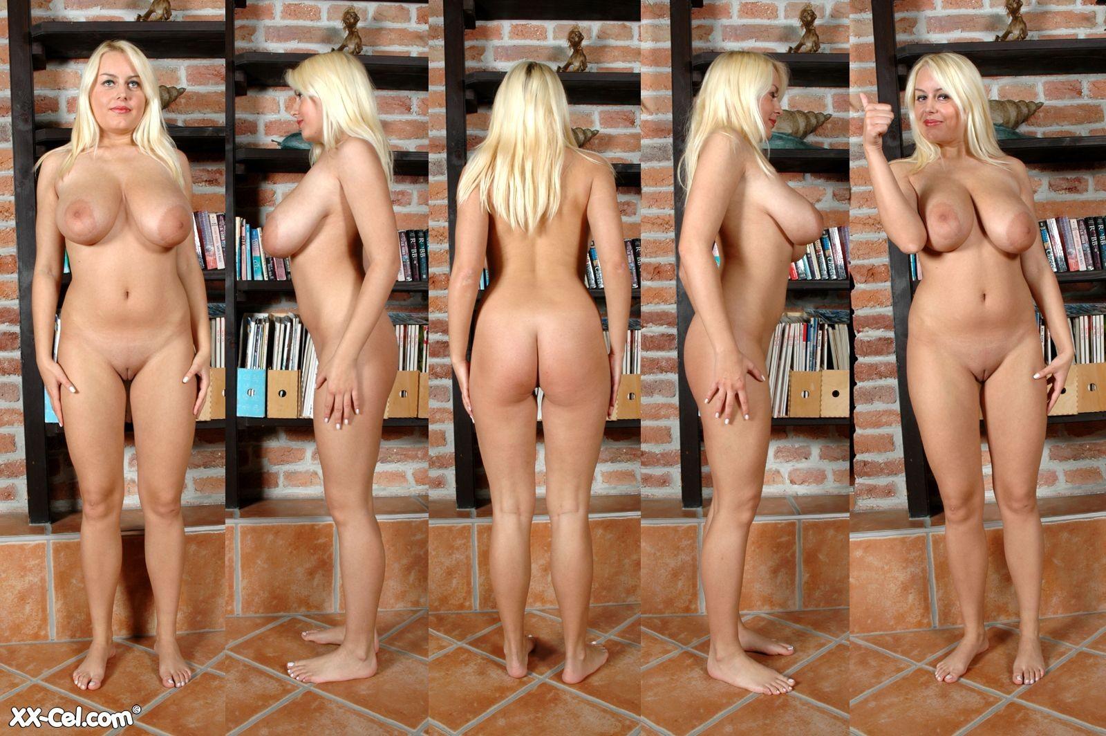 nude women shaking titties
