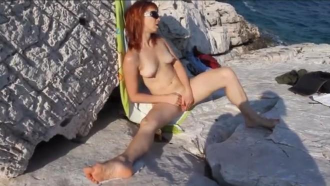 Puncisimogatás a tengerparton